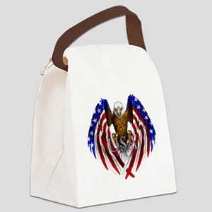eagle2 Canvas Lunch Bag