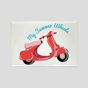 Summer Wheels Magnets