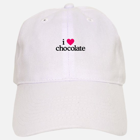 I Love Chocolate Baseball Baseball Baseball Cap