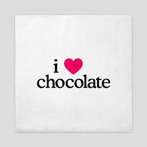 I Love Chocolate Queen Duvet