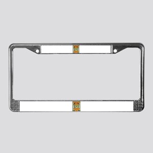 Surveillance License Plate Frame