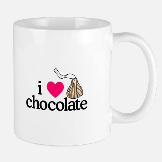 I Love Chocolate/Hug Mugs