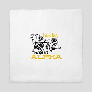 I am the Alpha Queen Duvet