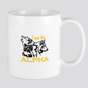 I am the Alpha Mugs
