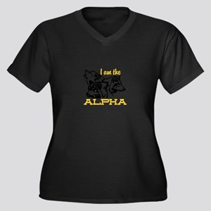 I am the Alpha Plus Size T-Shirt