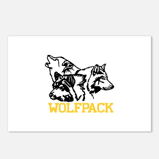 Wolfpack Postcards (Package of 8)