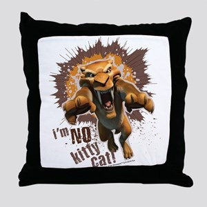 Ice Age Diego No Kitty Cat Throw Pillow