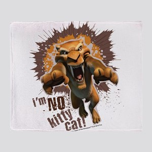Ice Age Diego No Kitty Cat Throw Blanket