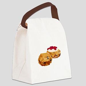 Scones Canvas Lunch Bag