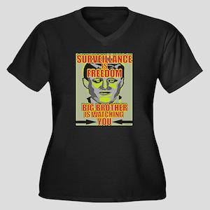 Surveillance Plus Size T-Shirt