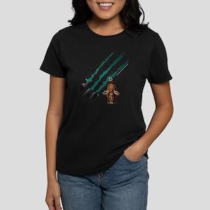 Ice Age Slash Women's Dark T-Shirt
