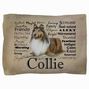 Collie Traits Pillow Sham