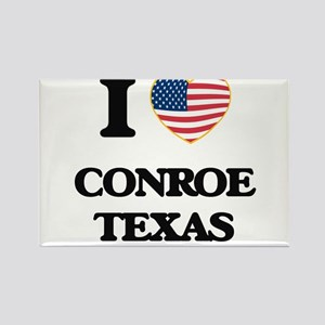 I love Conroe Texas Magnets