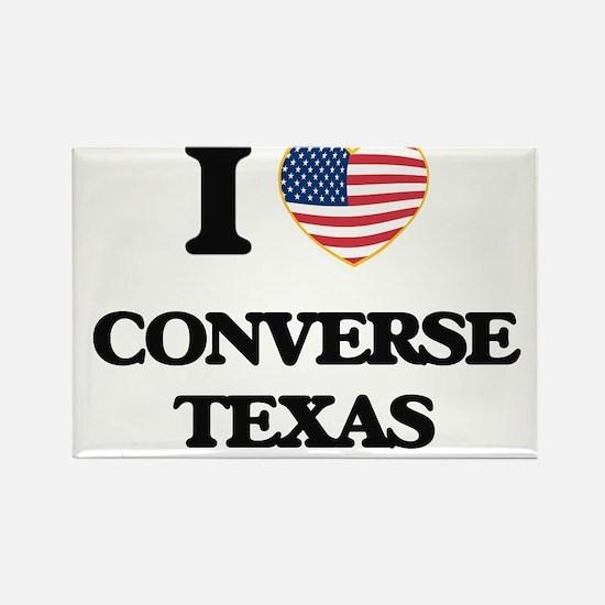 I love Converse Texas Magnets