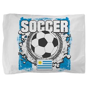 Uruguay Soccer Pillow Sham