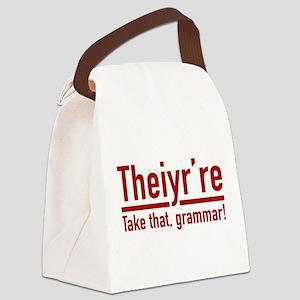 Theiyr're Canvas Lunch Bag