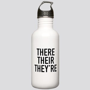 There Their They're Stainless Water Bottle 1.0L