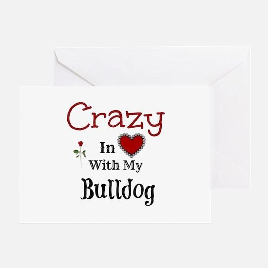 Bulldog Greeting Cards