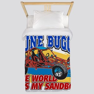 Dune Buggy Sandbox Twin Duvet