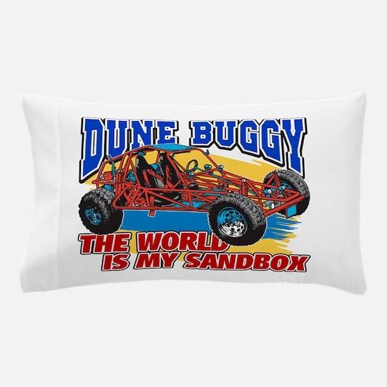 Dune Buggy Sandbox Pillow Case