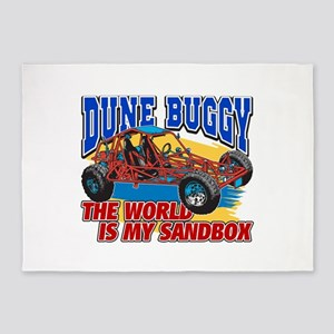 Dune Buggy Sandbox 5'x7'Area Rug