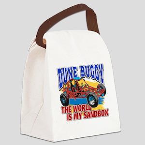 Dune Buggy Sandbox Canvas Lunch Bag
