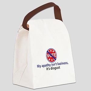 My apathy. . . Canvas Lunch Bag