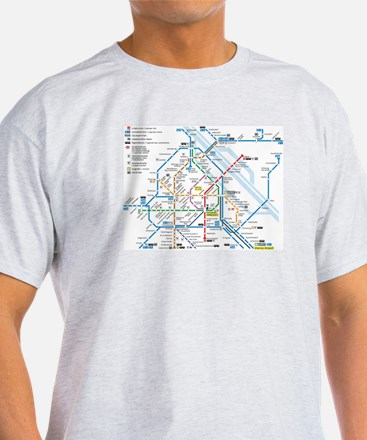 Vienna Metro Map T-Shirt