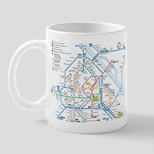 Vienna Metro Map Mug