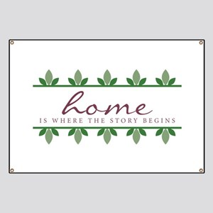 Story Begings At Home Banner