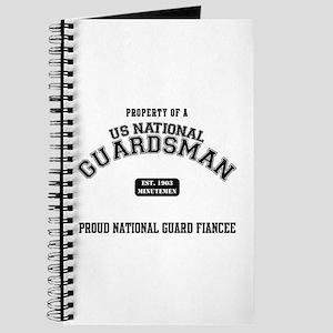Proud National Guard Fiancee Journal