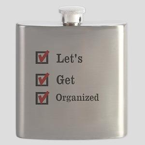 Get Organized Month Flask
