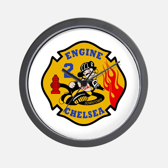 Chelsea Engine 2 Wall Clock