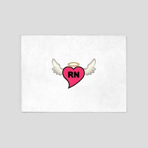 Registered Nurse 5'x7'Area Rug