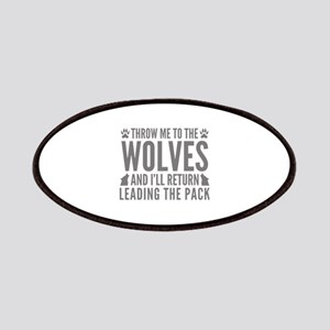 Throw Me To The Wolves Patches