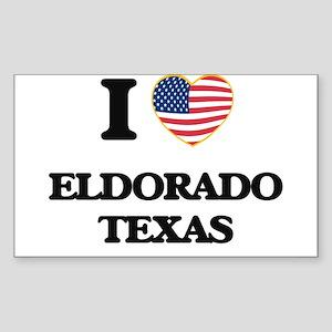 I love Eldorado Texas Sticker