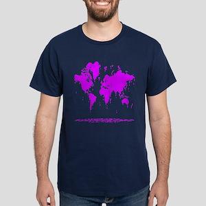 Melting Earth Dark T-Shirt