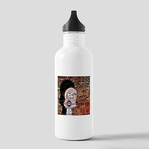 Zombie Girl #2 Water Bottle