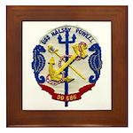 USS HALSEY POWELL Framed Tile