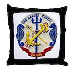 USS HALSEY POWELL Throw Pillow