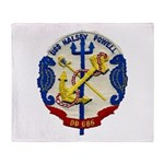 USS HALSEY POWELL Throw Blanket