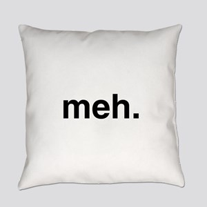 Black Meh Everyday Pillow