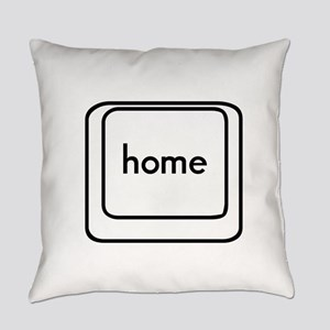 Home Button Everyday Pillow