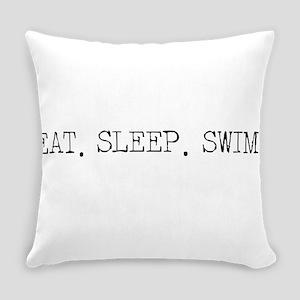 Eat Sleep Swim Everyday Pillow