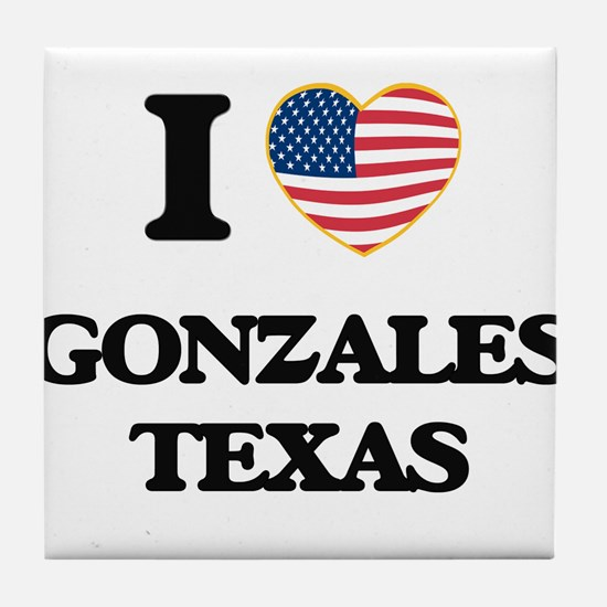 I love Gonzales Texas Tile Coaster