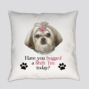 Shih Tzu Hug Everyday Pillow