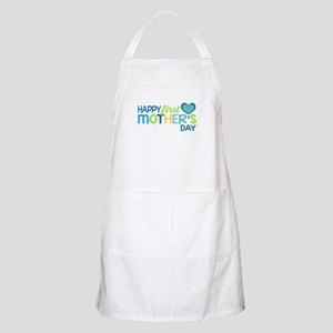 Happy First Mother's Day Boy Apron