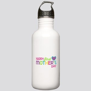 Happy First Mother's D Stainless Water Bottle 1.0L