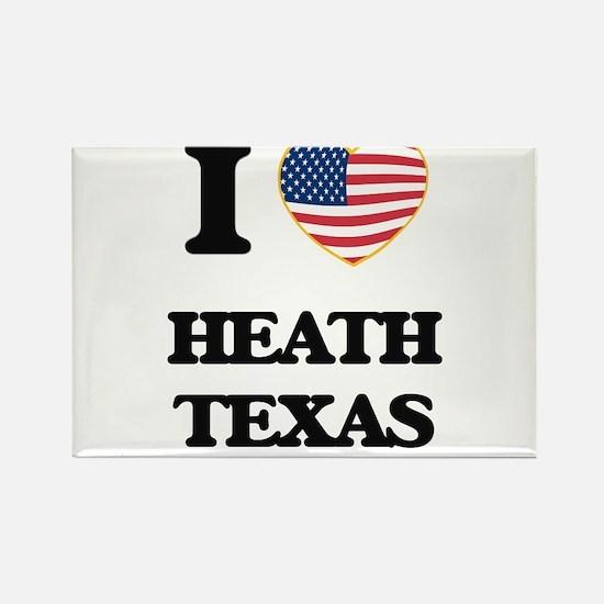 I love Heath Texas Magnets