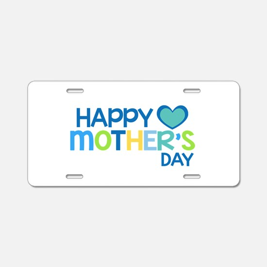Cute First mothers day Aluminum License Plate